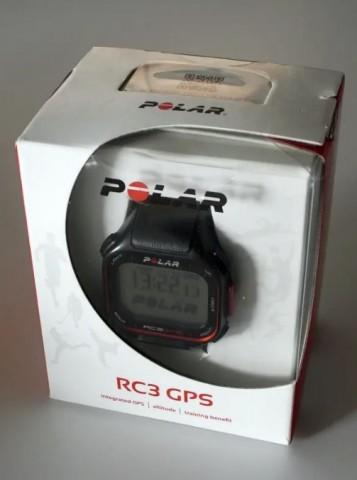 Pulsometro POLAR RC3 GPS en