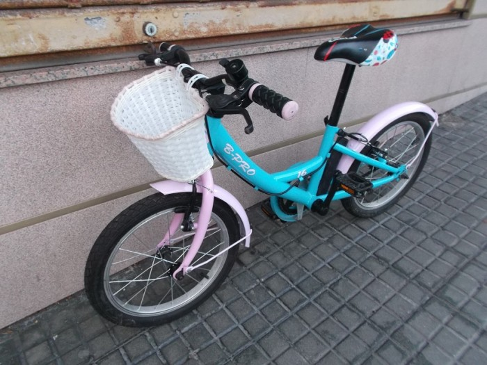 Bicicleta Infantil B-Pro 16 pulgadas