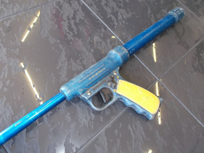 Fusil Arpon Nemrod Corbeta Aire Antiguo en