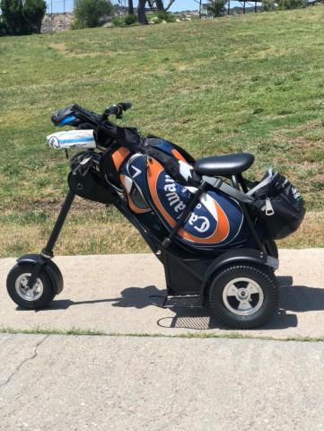 carro de golf en