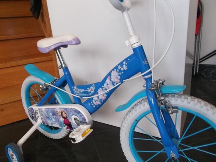 Bicicleta Infantil Frozen 16 pulgadas en