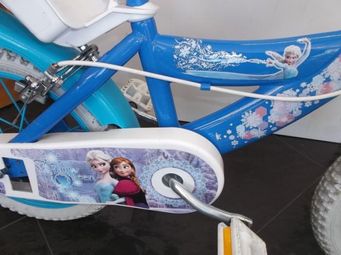 Bicicleta Infantil Frozen rueda 14 pulgadas en