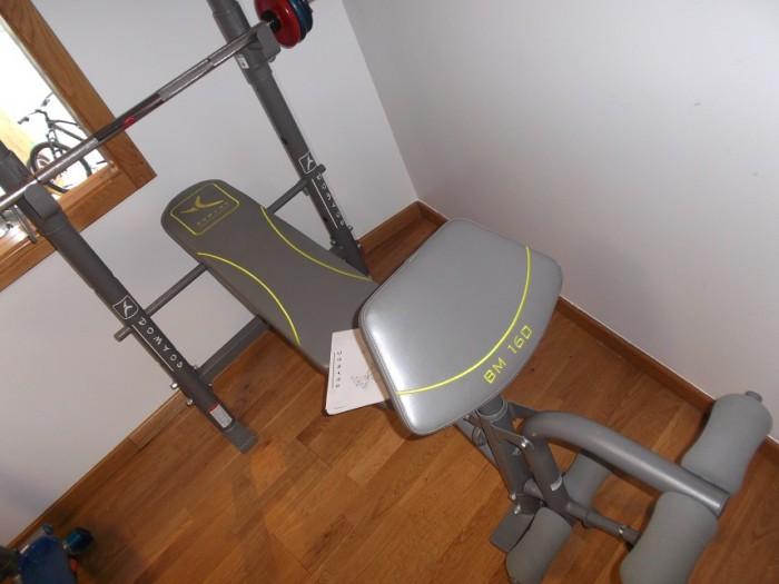 Banco de Musculación BM-160 en