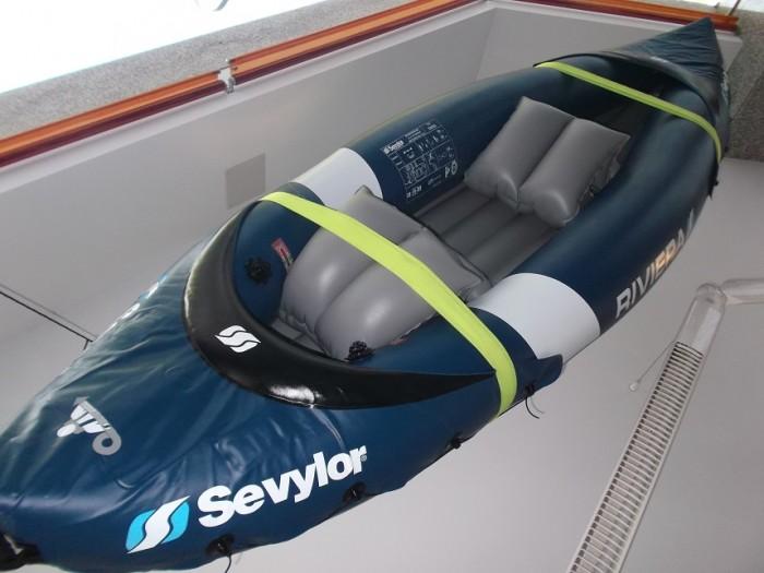 Kayak Sevylor Riviera + bomba en
